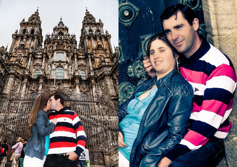 La Preboda en Santiago de Compostela de Chabely y Felipe 1