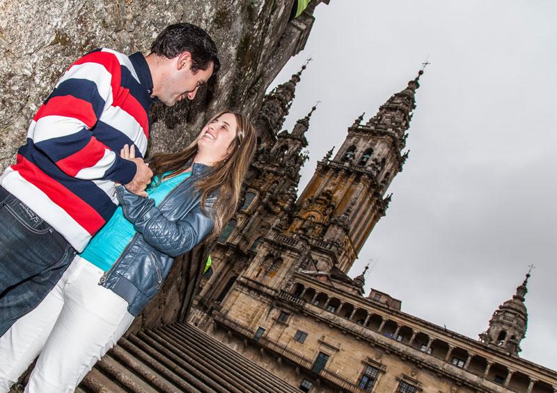 La Preboda en Santiago de Compostela de Chabely y Felipe 2