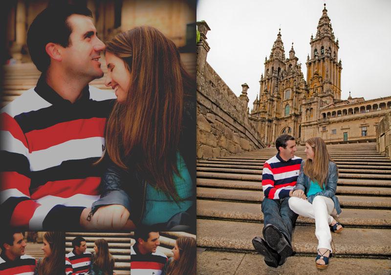La Preboda en Santiago de Compostela de Chabely y Felipe 4