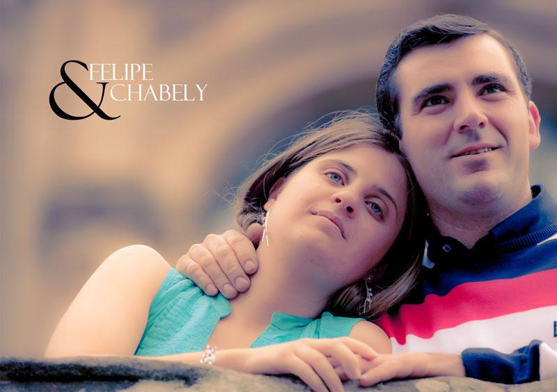 La Preboda en Santiago de Compostela de Chabely y Felipe 11