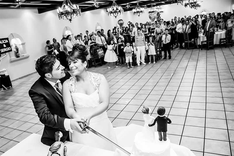 La boda en Camelle de Ali y Sergio