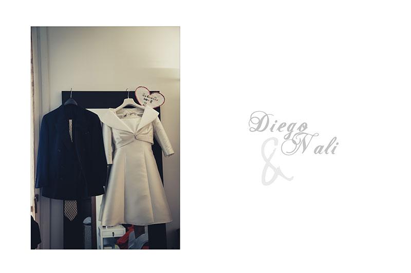 Naly + Diego, su boda en Gallarate, Italia 1