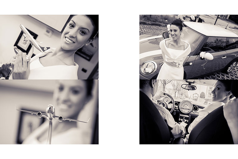 Naly + Diego, su boda en Gallarate, Italia 7