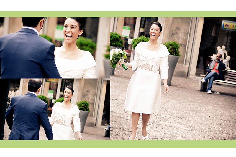 Naly + Diego, su boda en Gallarate, Italia 9