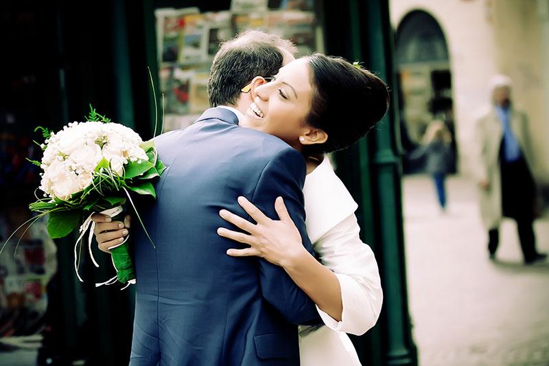 Naly + Diego, su boda en Gallarate, Italia 10