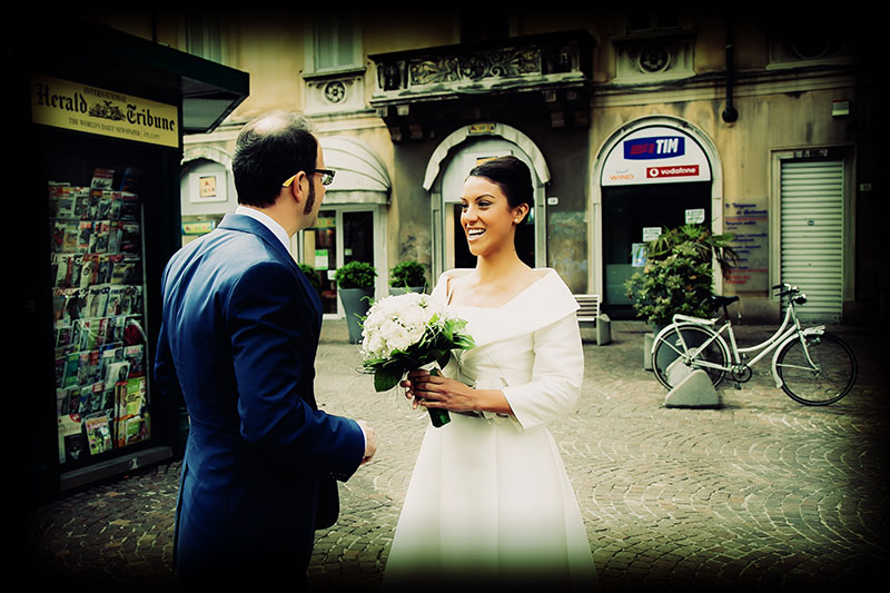 Naly + Diego, su boda en Gallarate, Italia 11