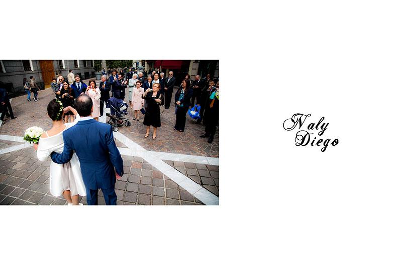 Naly + Diego, su boda en Gallarate, Italia 13