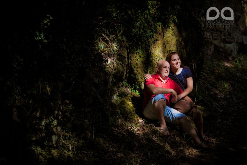 Preboda en Muxía Costa da Morte de Paula y Cristian