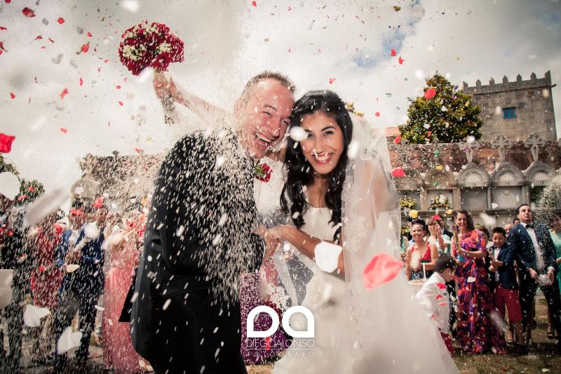 La boda en Cereixo de Tamara y Alejandro