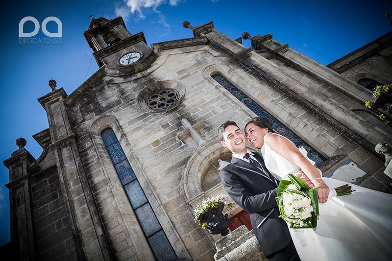 La boda en Vimianzo de Adriana y Carbi