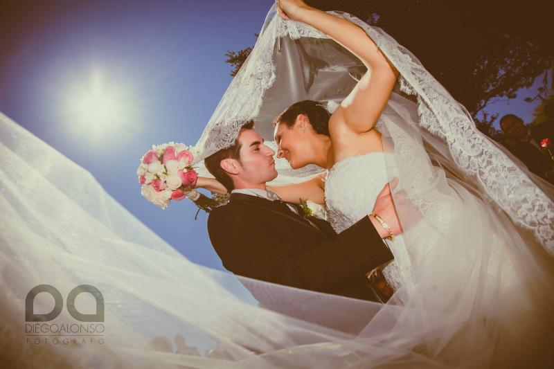 La boda en Xaviña de Fátima y Jose