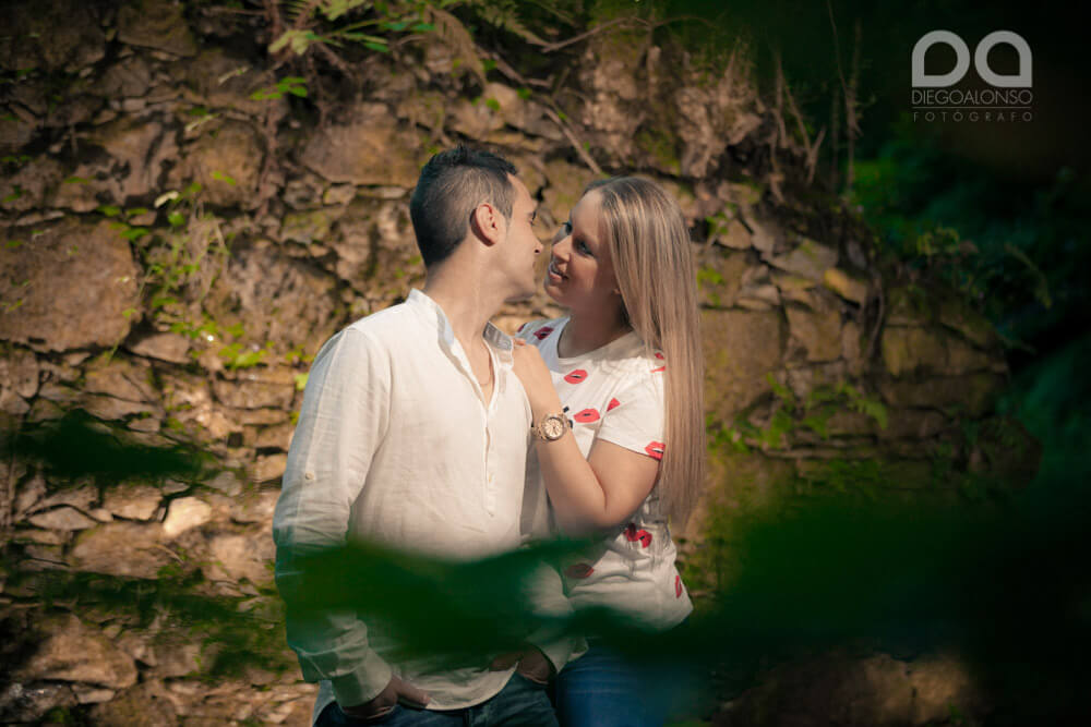 La preboda en Carballo de Mónica y Rodrigo