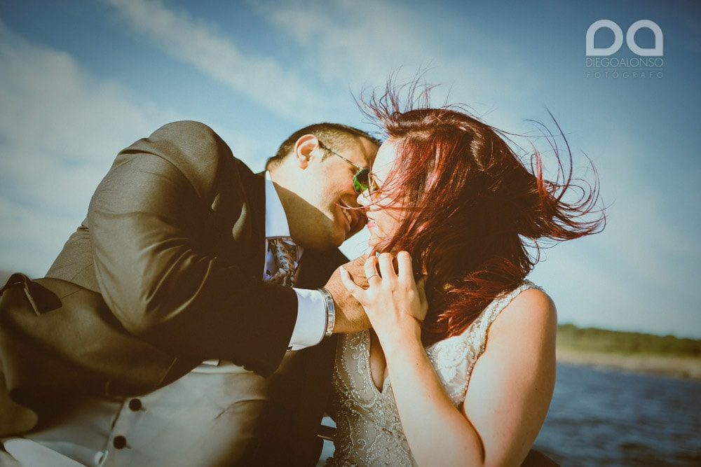 Una postboda en yate de lujo por la Costa da Morte: Laura & Adrián 2