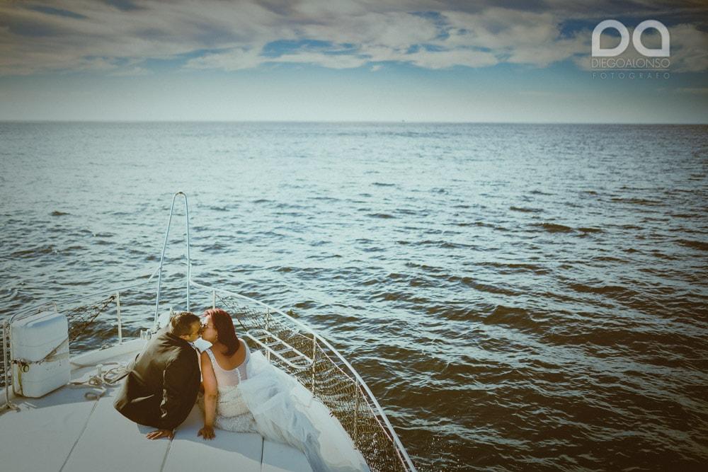 Una postboda en yate de lujo por la Costa da Morte: Laura & Adrián 4