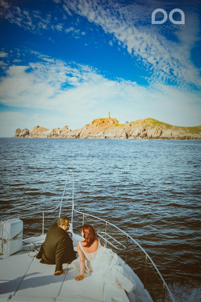 Una postboda en yate de lujo por la Costa da Morte: Laura & Adrián 6