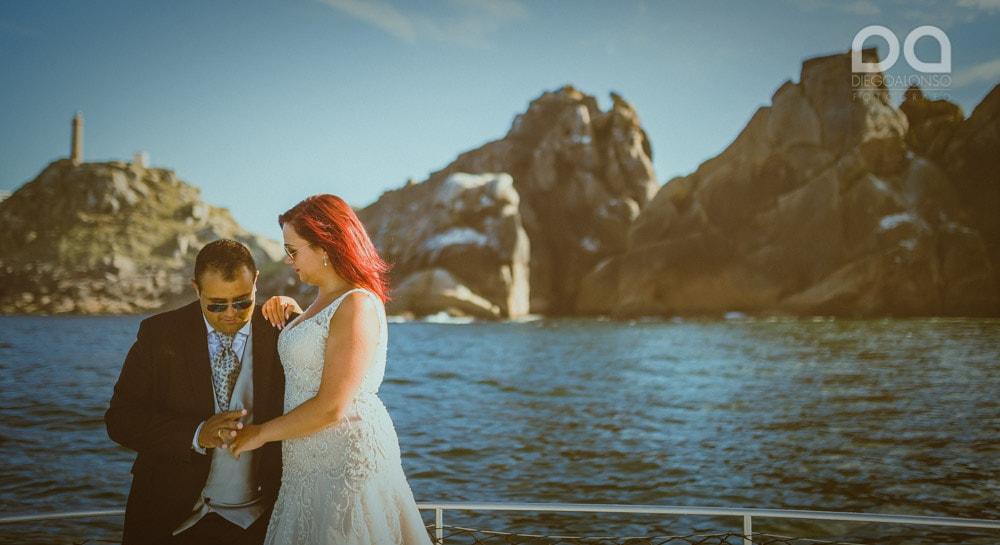Una postboda en yate de lujo por la Costa da Morte: Laura & Adrián 9