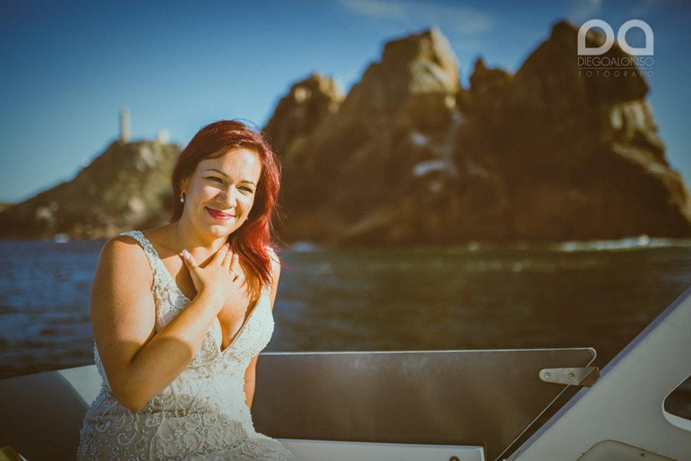 Una postboda en yate de lujo por la Costa da Morte: Laura & Adrián 13