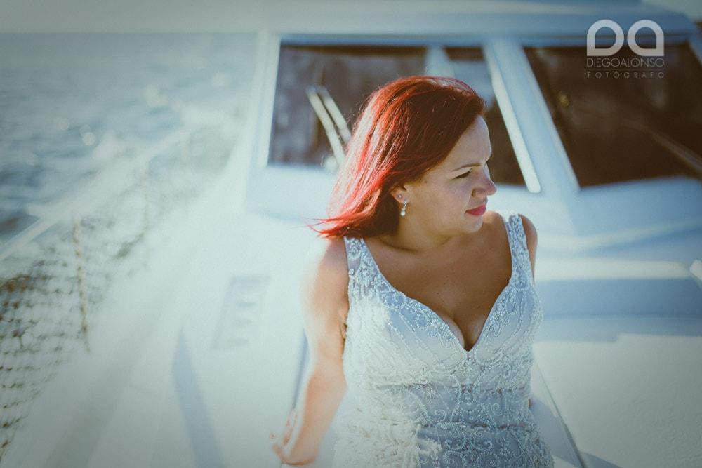 Una postboda en yate de lujo por la Costa da Morte: Laura & Adrián 22