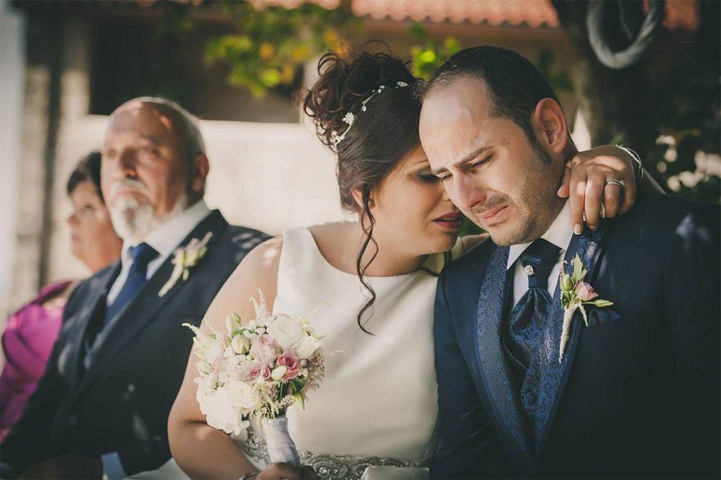 La emotiva boda de Adriana y Jose en Pazo de Xerlís
