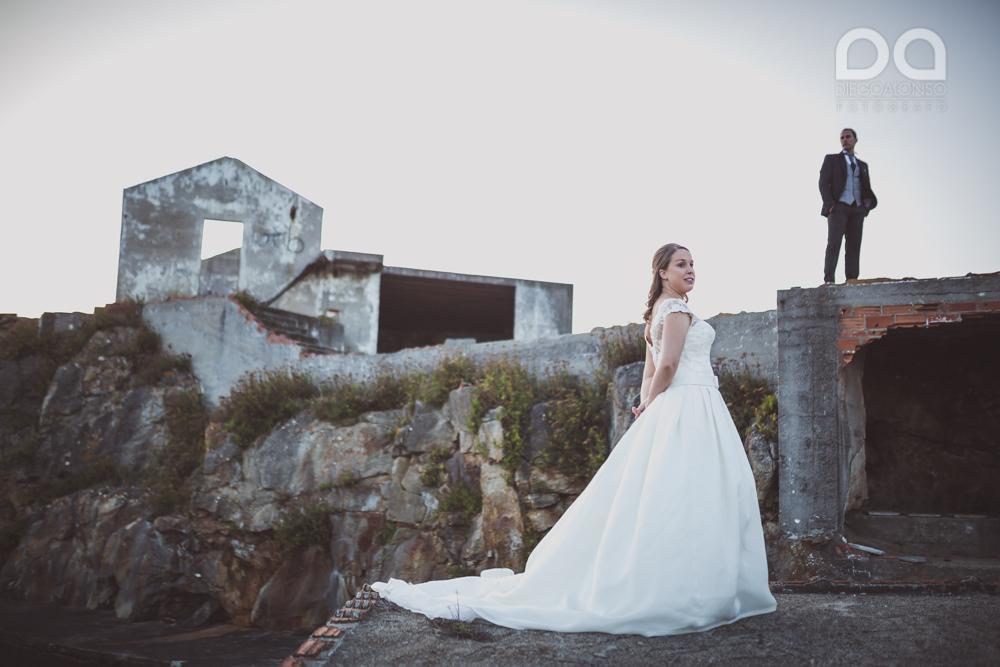 Costa da Morte en ruinas: la postboda alternativa de Mónica & Rodrigo 3