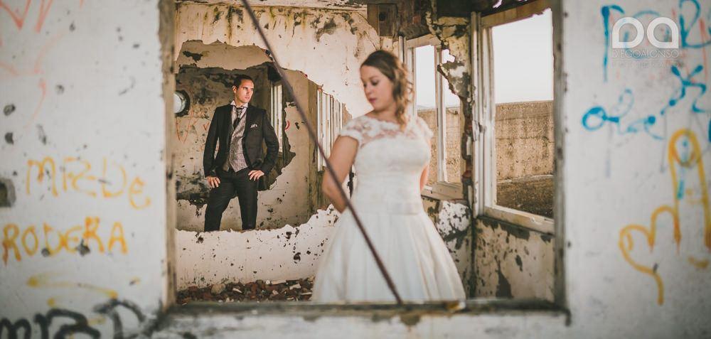 Costa da Morte en ruinas: la postboda alternativa de Mónica & Rodrigo 11