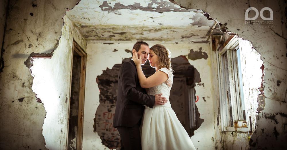 Costa da Morte en ruinas: la postboda alternativa de Mónica & Rodrigo 13