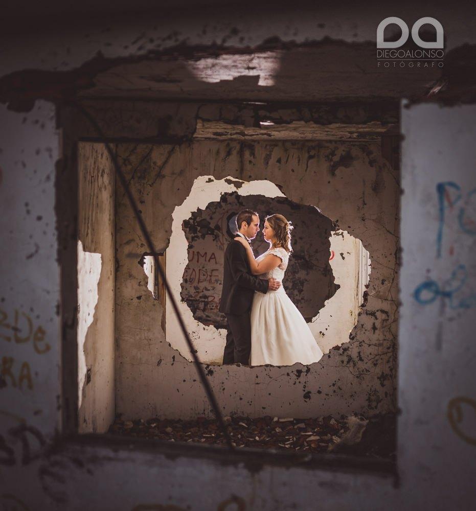 Costa da Morte en ruinas: la postboda alternativa de Mónica & Rodrigo 14