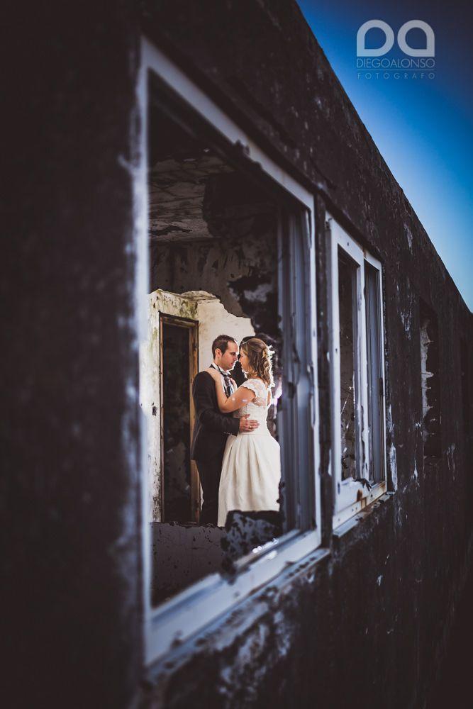 Costa da Morte en ruinas: la postboda alternativa de Mónica & Rodrigo 15