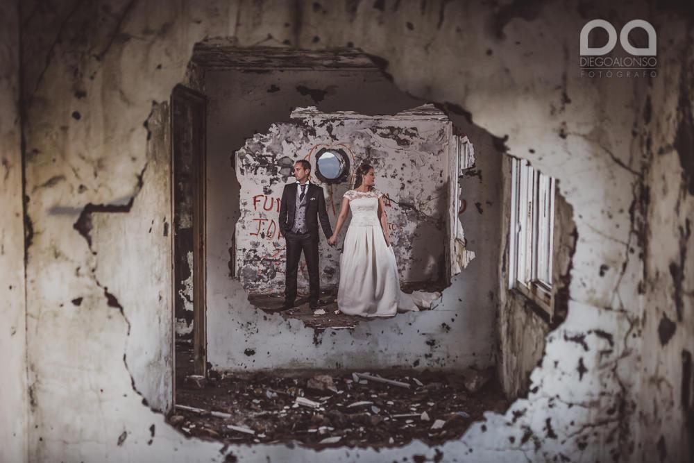 Costa da Morte en ruinas: la postboda alternativa de Mónica & Rodrigo 16