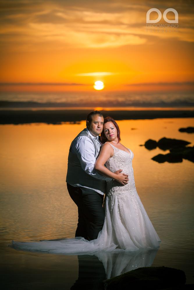 Postboda en la playa de Reira y Faro Vilán de Laura y Adrián 12