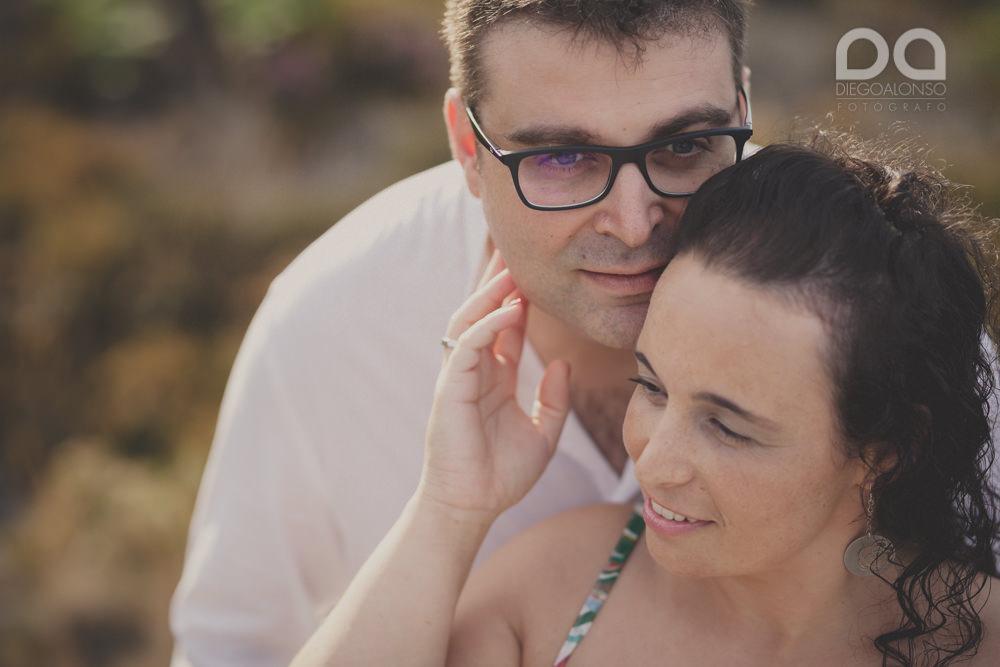La sesión de fotos de preboda en Arou y Lobeiras de Lucía y Luciano 14
