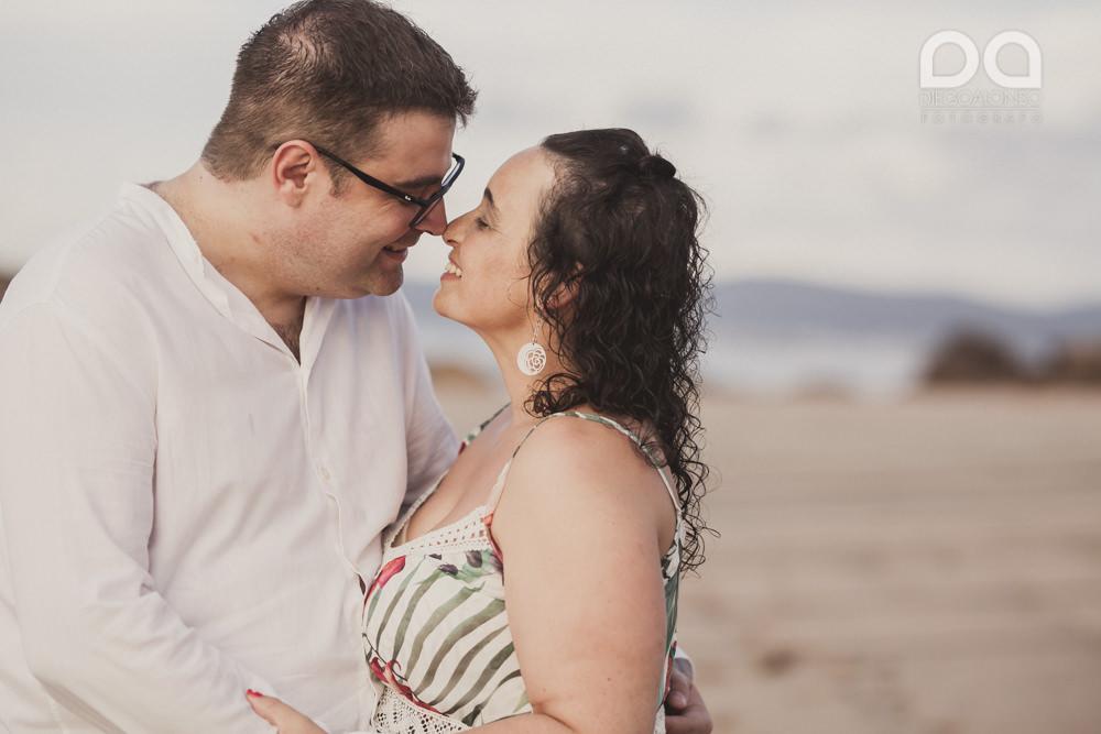 La sesión de fotos de preboda en Arou y Lobeiras de Lucía y Luciano 21