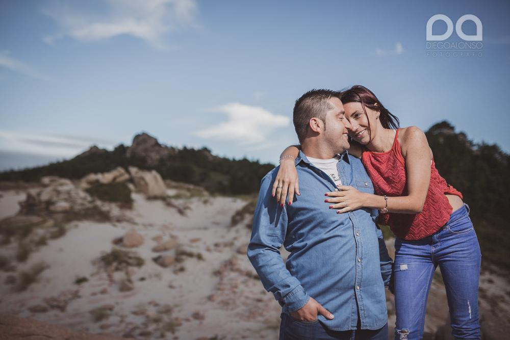 Bibiana y Marcos: preboda en un lugar mágico de la Costa da Morte 10