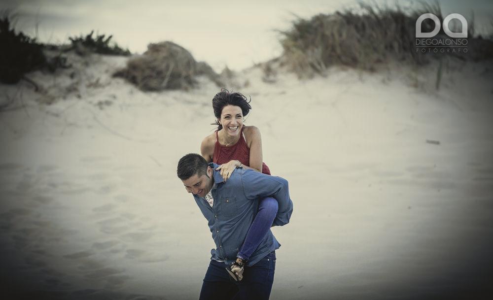 Bibiana y Marcos: preboda en un lugar mágico de la Costa da Morte 17