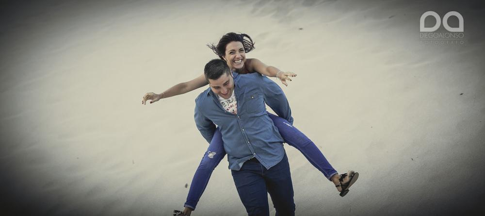 Bibiana y Marcos: preboda en un lugar mágico de la Costa da Morte 18
