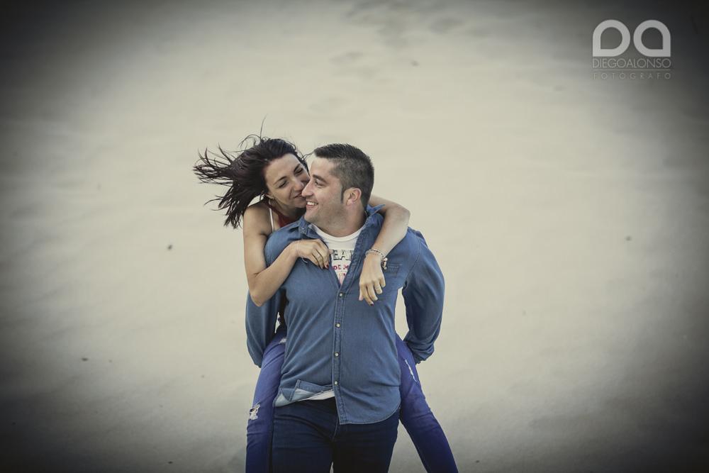 Bibiana y Marcos: preboda en un lugar mágico de la Costa da Morte 19