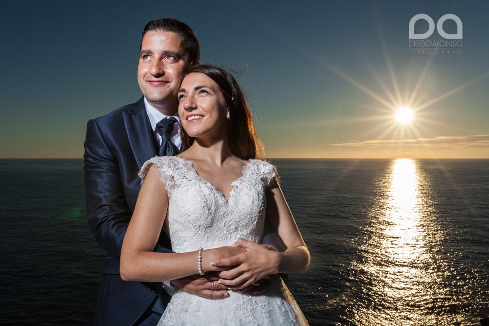 Bibiana & Marcos: Postboda en la Costa da Morte, donde muere el sol 15