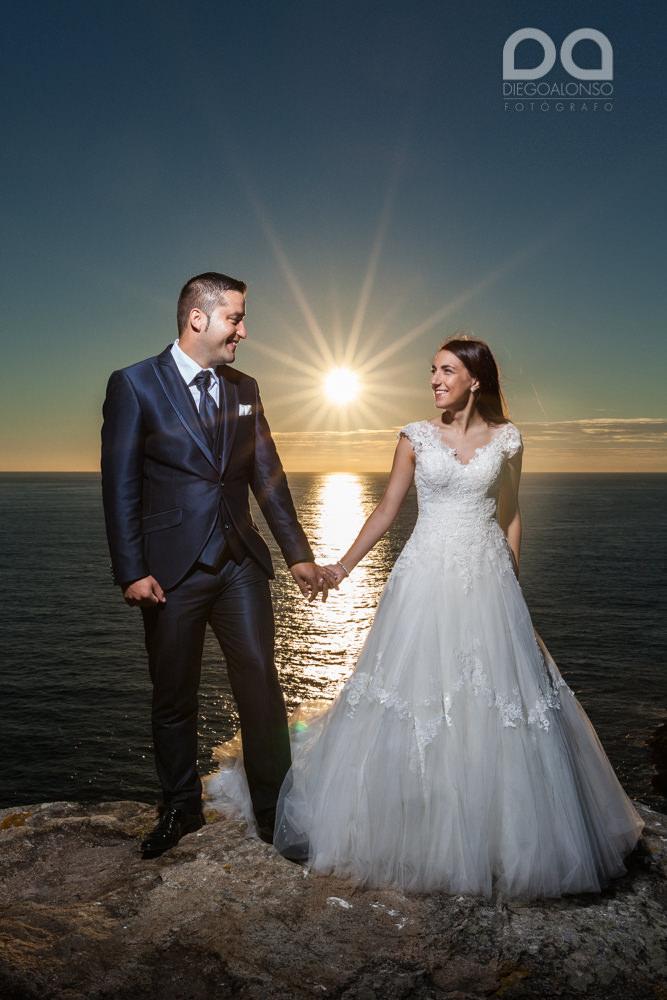 Bibiana & Marcos: Postboda en la Costa da Morte, donde muere el sol 16