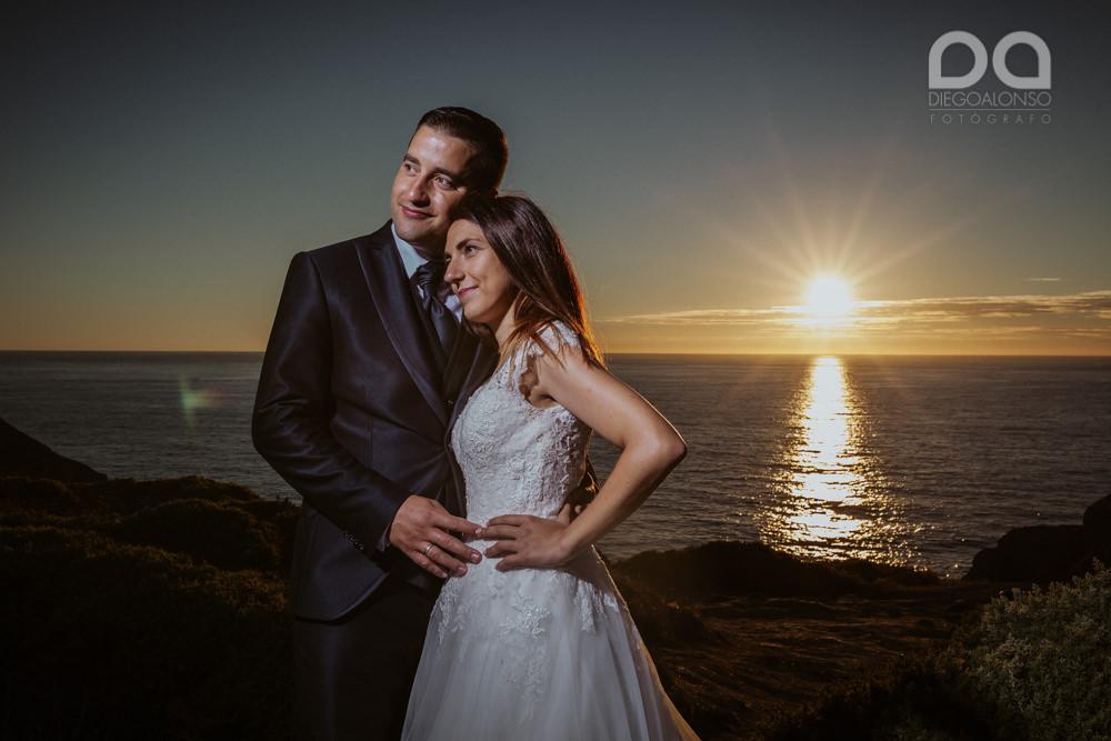 Bibiana & Marcos: Postboda en la Costa da Morte, donde muere el sol 20