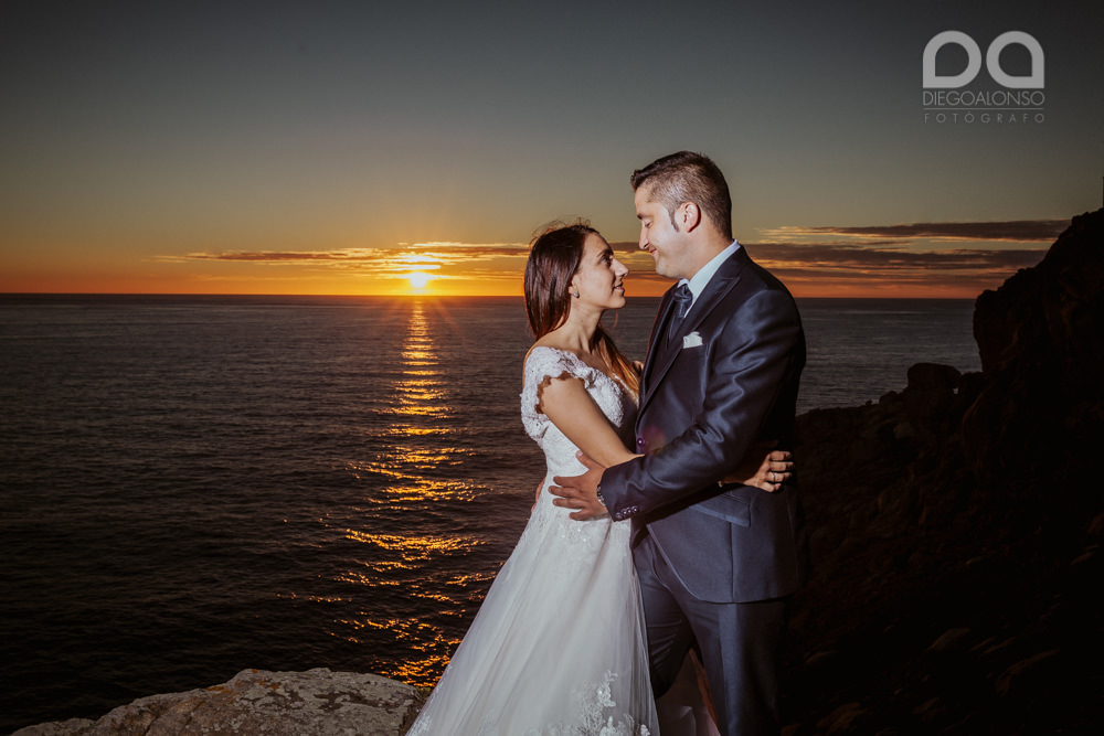 Bibiana & Marcos: Postboda en la Costa da Morte, donde muere el sol 25