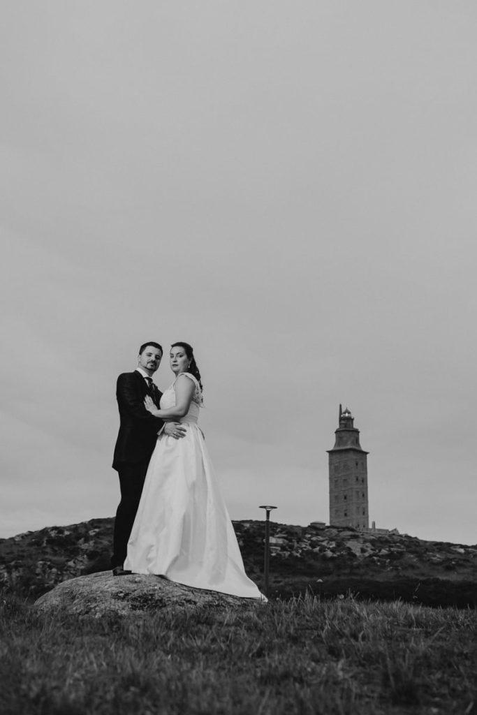 La postboda en el Monte de San Pedro de Coruña de Brenda y Víctor 49