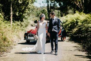 La emocionante boda en Leis Muxía de Alba e Ismael