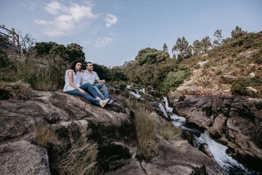 La preboda en las Caldeiras do Castro de Inés y Luis 37