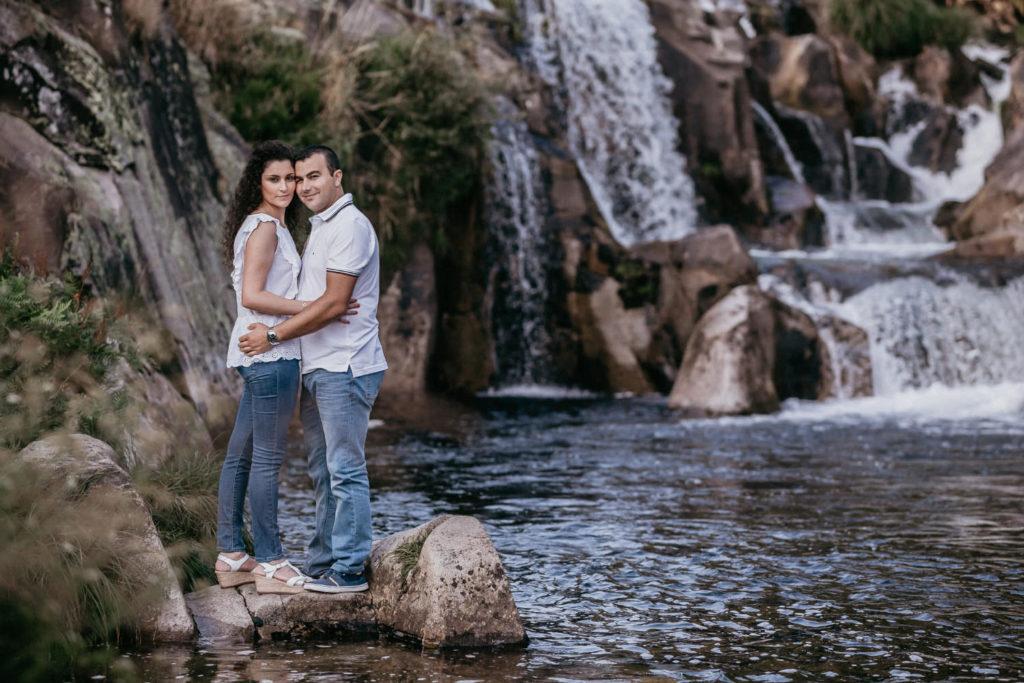 La preboda en las Caldeiras do Castro de Inés y Luis 40