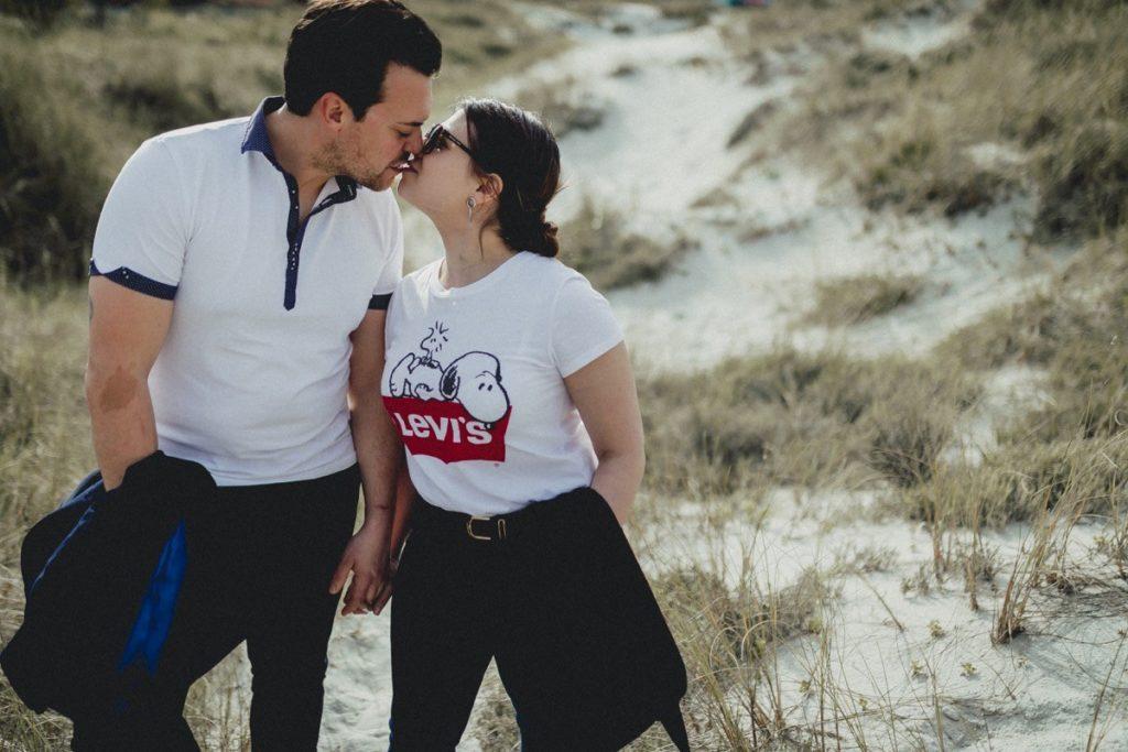 La preboda en la playa de Laxe de Jenni & Santi 28