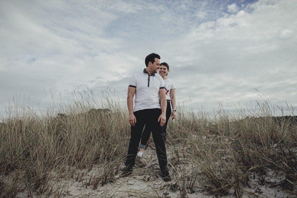 La preboda en la playa de Laxe de Jenni & Santi 36