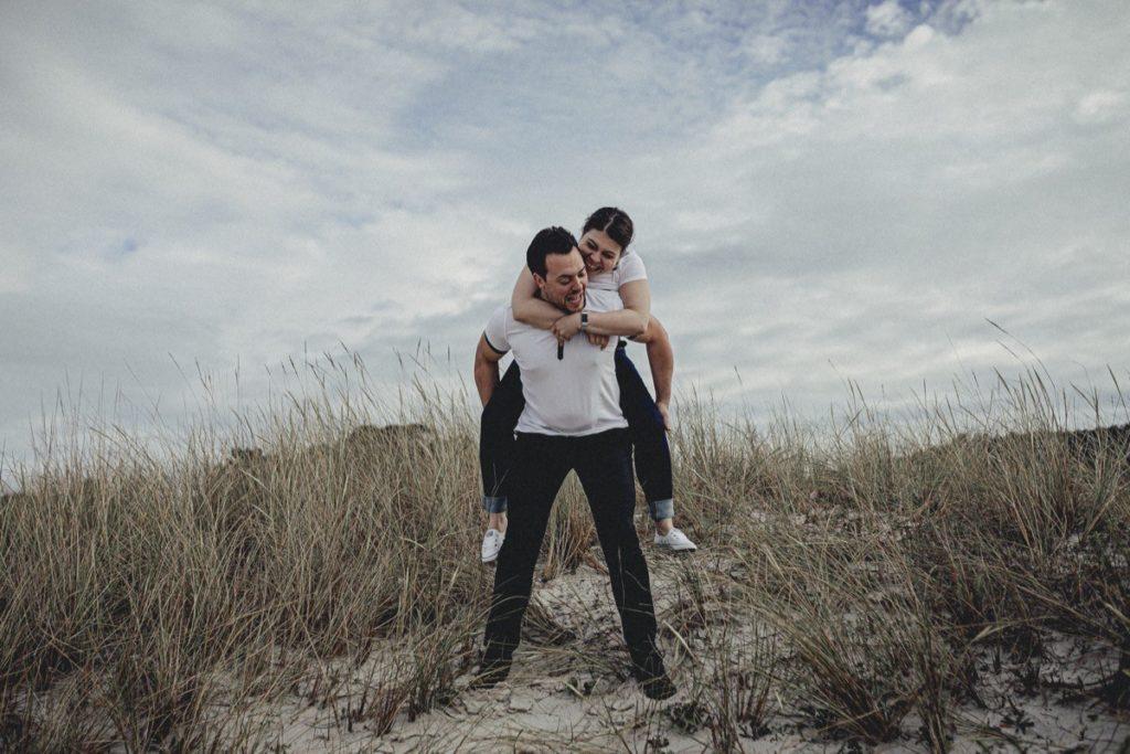 La preboda en la playa de Laxe de Jenni & Santi 37