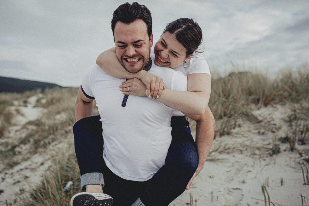 La preboda en la playa de Laxe de Jenni & Santi 39