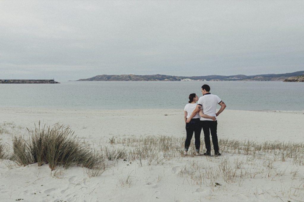 La preboda en la playa de Laxe de Jenni & Santi 40