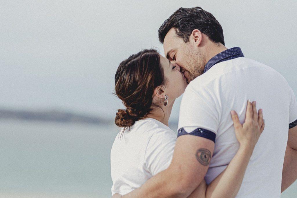 La preboda en la playa de Laxe de Jenni & Santi 45